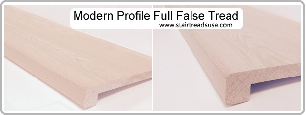 Modern Replacement Stair Tread Cap