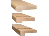 nose profiles (Stair Treads Canada)